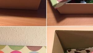 Geschenkgutschein Karte: Bunt witzig oder Eine Kiste voller Überraschungen