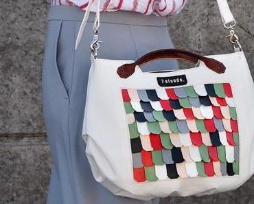 Chic und einfach eine Statement Bag kombinieren - Frühlingsoutfit
