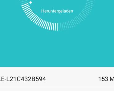 Update ALE-L21C432B594 für Huawei P8 lite