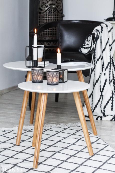Beistelltische in Skandinavischen Design von daheim.de, Trend 2017 New Boho oder Scandiboho