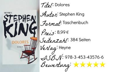 Dolores | Stephen King