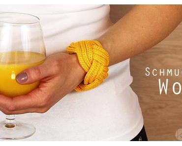 Strickliesel Schmuck: Breite Armbänder