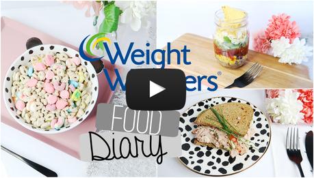food diary weight watchers 7 tage essen fr hst ck mittagessen abendessen video. Black Bedroom Furniture Sets. Home Design Ideas