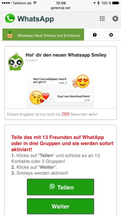 Whatsapp Kettenbrief