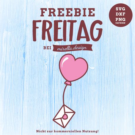 Freebie Freitag Luftballon Post