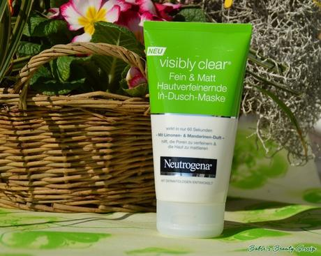 [Review] – Neutrogena Fein & Matt In-Dusch-Maske: