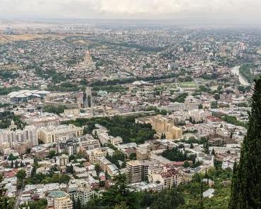 Tiflis ist die östlichste Hauptstadt Europas