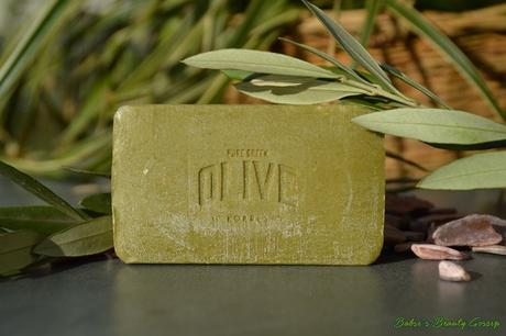 "[Review] – Korres Body Soap ""Olive Blossom"":"