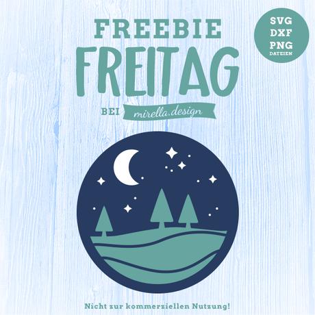 Freebie Freitag kleiner Nachthimmel