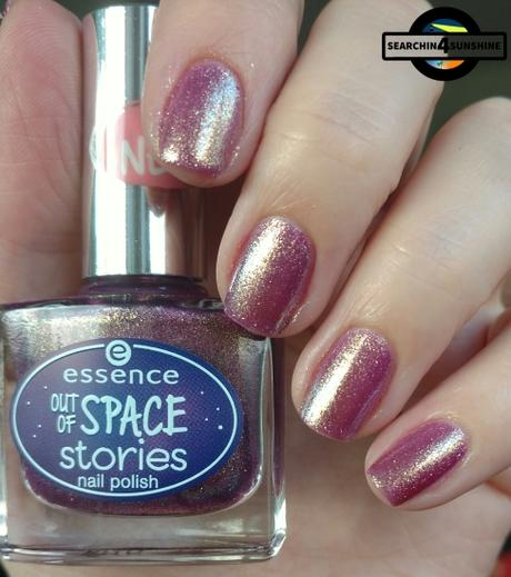 [Nails] essece OUT OF SPACE stories nail polish 03 space glam