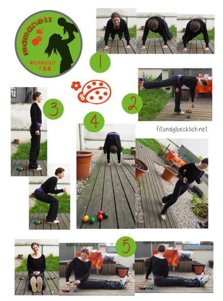 {Mamaness} Workout #44 Ei Ei Hoppelhase