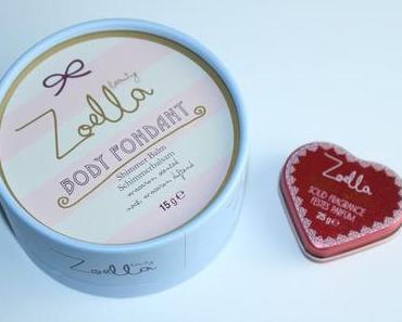 Zoella Beauty Body Fondant Shimmer Balm Schimmerbalsam Review