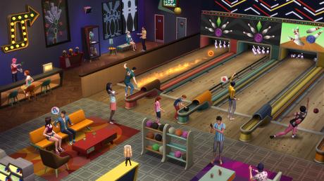 Die Sims 4: Bowling-Abend-Accessoires - Lets-Plays.de