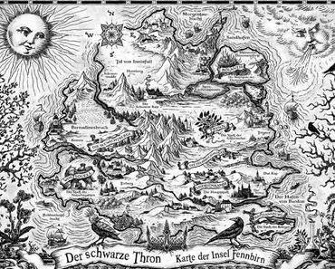 Der schwarze Thron - Naturbegabte - Die Karte der Welt + Gewinnspiel