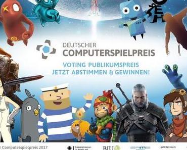 Dem Ziel entgegen: Endspurt beim Deutschen Computerspielpreis 2017