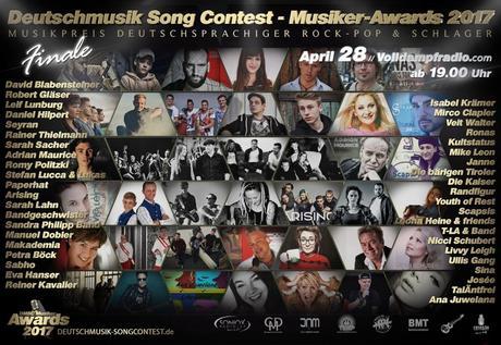 Deutschmusik Song Contest 2017: Preis für deutsche Musik erreicht krönenden Abschluss