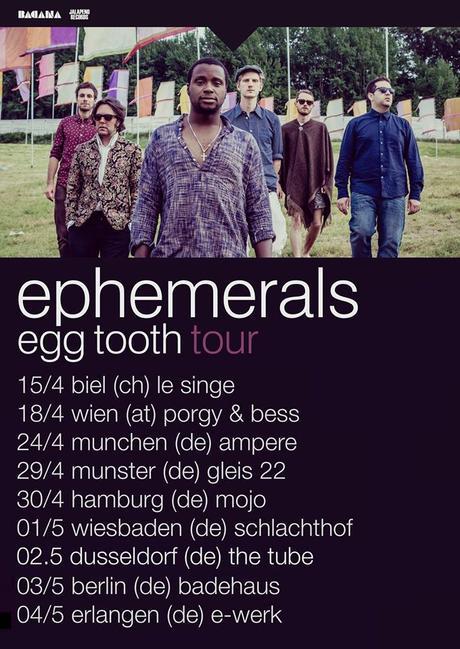 Happy Releaseday: Ephemerals – Egg Tooth // + Tourdaten