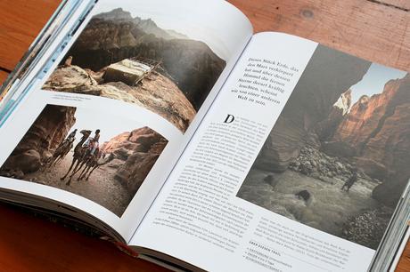 """Übersichtlich präsentiert sich die Gestaltung und weiß mit zahlreichen Abbildungen zu verführen. Ausschnitt aus dem Buch """"Wanderlust"""" aus dem Gestalten Verlag"""