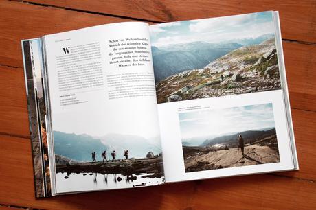 """Themenbezogen ist das Bildmaterial enthusiastischer Fotografen  zusammengetragen. Ausschnitt des Buchs """"Wanderlust"""" aus dem Gestalten Verlag"""