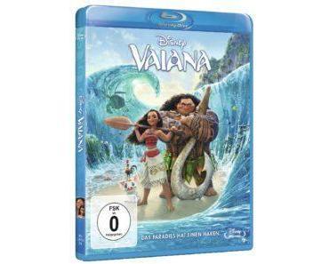 """Gewinnt 2x die Blu-ray zum Disney-Animationsfilm """"Vaiana"""""""