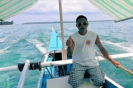 Philippinen Inselhopping, Bootstour, Fahrt