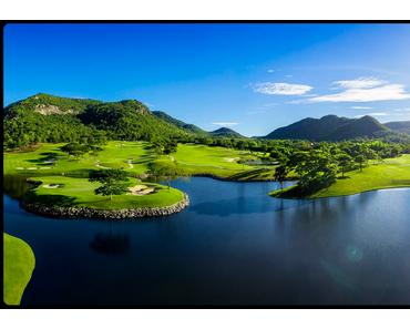 Golfen in Thailand im Herbst