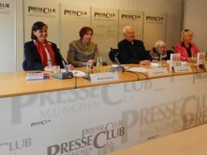 Podiumsdiskussion im Presseclub München