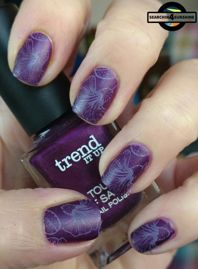 [Nails] Lacke in Farbe ... und bunt! LILA mit trend IT UP TOUCH OF SATIN NAIL POLISH 040