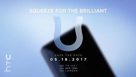 Das neue HTC U 11 Smartphone
