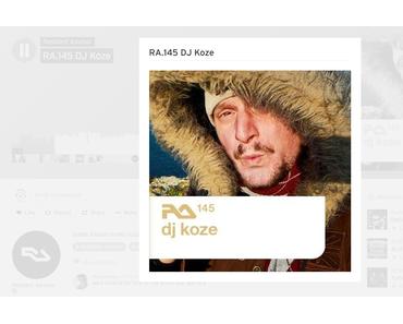 Mix: DJ Koze – RA. 145