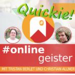 Mastodon — #Onlinegeister Quickie (Social-Media-Podcast)
