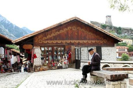 Albanien orientalischer Bazar