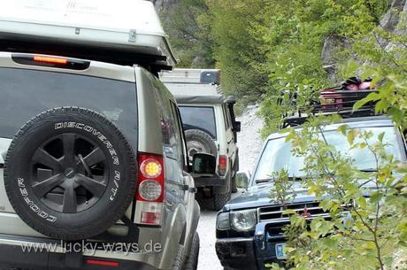 Albanien offroad Theti Nationalpark
