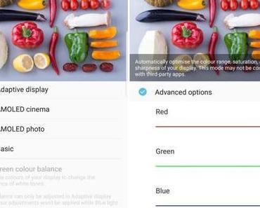 Samsung Galaxy S8(+): Update gegen Display-Rotstich wird ab sofort verteilt