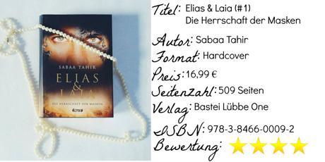 Elias & Laia – Die Herrschaft der Masken | Sabaa Tahir