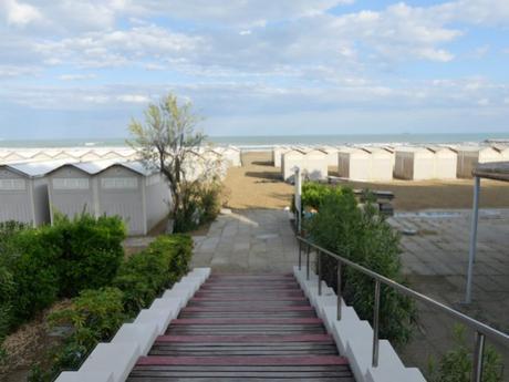 Lido Strand Eingang