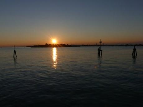Lido Sonnenuntergang