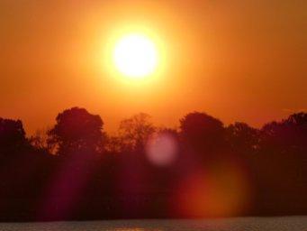 Lido Sonnenuntergang Zoom