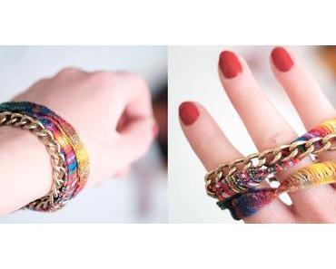 [diy] Armband im Ethno Look selber machen