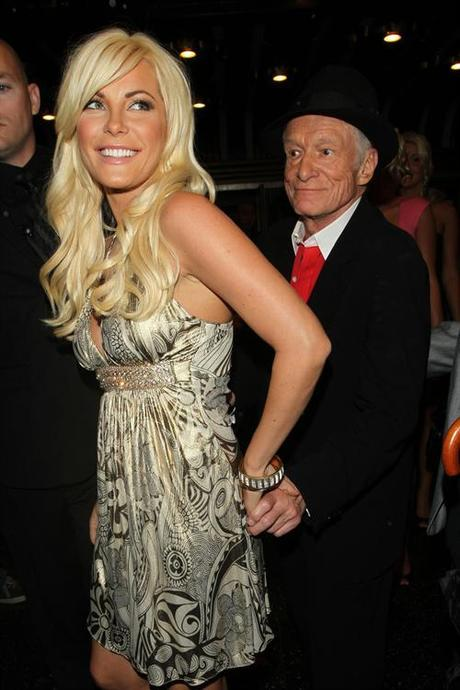 Hugh Hefner and latest girlfriend Crystal Harris at the 2009 Fox Reality Channel Really Awards at the Music Box in LA