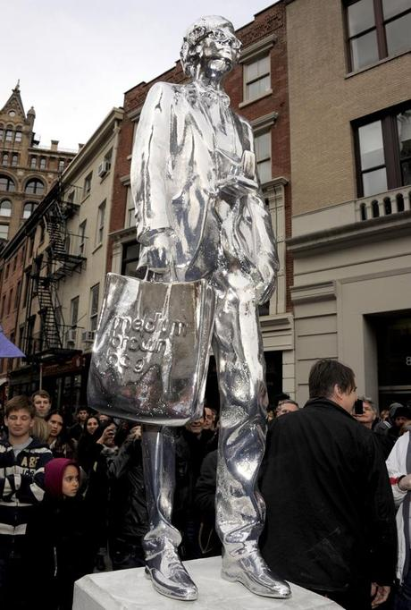 Andy Warhol Monument in New York