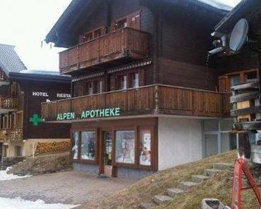 Apotheken in aller Welt, 99: Bettmeralp, Schweiz