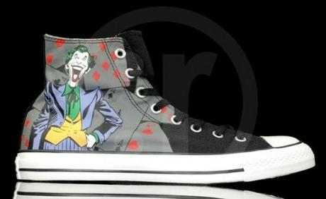 Converse Chucks All Star DC Comics cartoon hero series the Joker