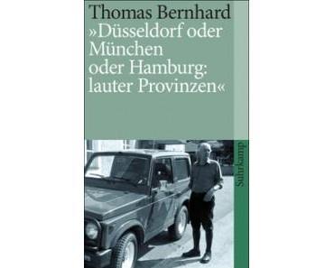 Thomas Bernhard und Wien: eine Versöhnung