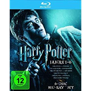 Harry Potter Die Jahre 1-6 Bluray