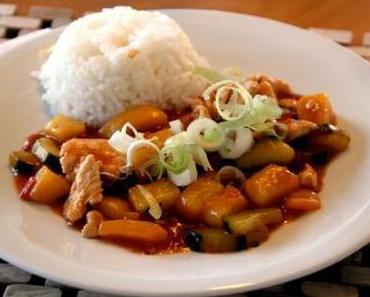 Einfach Asiatisch: Poulet Sweet and Sour mit Gemüse – Mjami!
