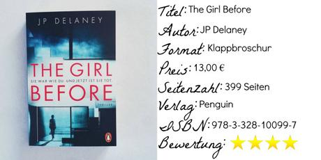 The Girl Before – JP Delaney