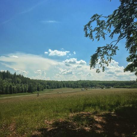 Yo, ganz schön heiß heute. Irgendwie suche ich mir immer die heißesten Tage des Jahres zum Wandern aus. Muss man auch erst mal schaffen.