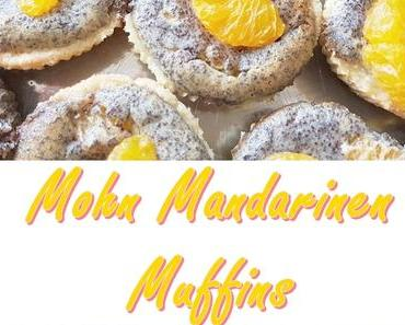 Rezept zum Muttertag: Mohn Mandarinen Muffins