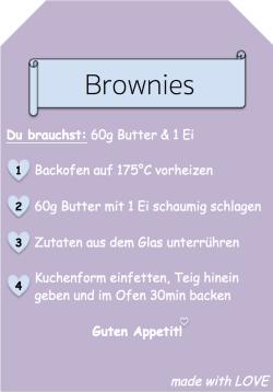 [DIY] Brownie Backmischung